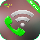 Calls with Wifi Unlimited app