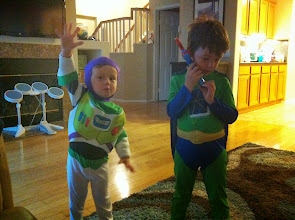 Photo: Clark and Finn Costumes Again