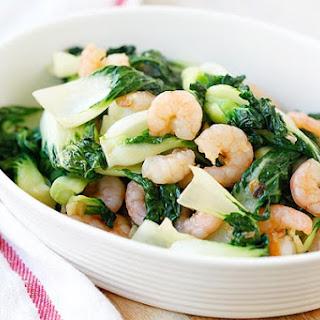 Baby Bok Choy with Shrimp
