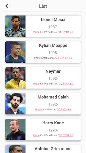 Soccer Players - Quiz about Soccer Stars!  screenshots 4