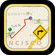 GPS Driving Route® - Offline Map & Live Navigation  Icon