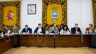 Imagen del Pleno celebrado en el municipio carbonero.