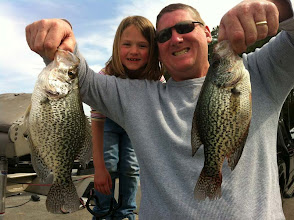 Photo: March 11, 2012 - Steve Mainord and his granddaughter, Delaney.