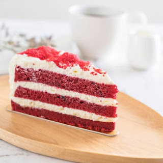 Famous Brown Derby Red Velvet Cake And Icing.