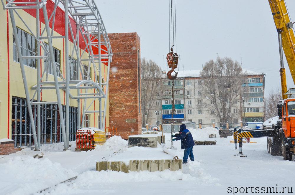 Ледовая арена в Чапаевске