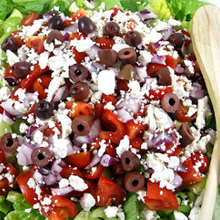 A Great, Skinny Greek Salad