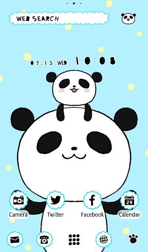 免費下載個人化APP|パンダの親子 壁紙きせかえ app開箱文|APP開箱王