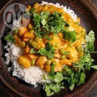 Vegetarian Korma.