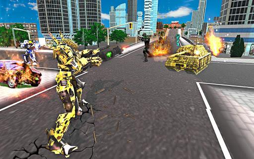 US Army Robot Transformation Jet Robo Car Tank War 1.2 screenshots 9