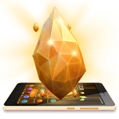 Gold Crystal Luxury 3D Theme