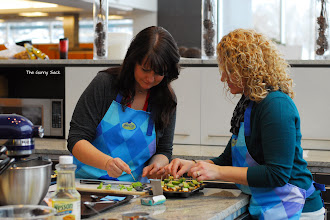 Photo: Shawn from I Wash, You Dry and Jocelyn from Inside BruCrew Life worked together to make Chipotle Meatball Appetizers.
