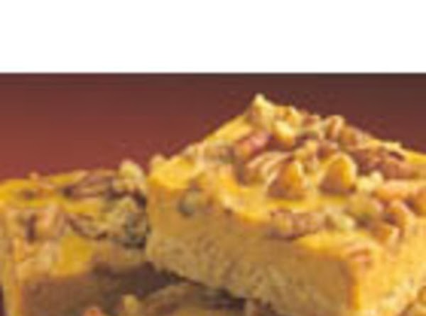Pumpkin Cheescake Bars Recipe