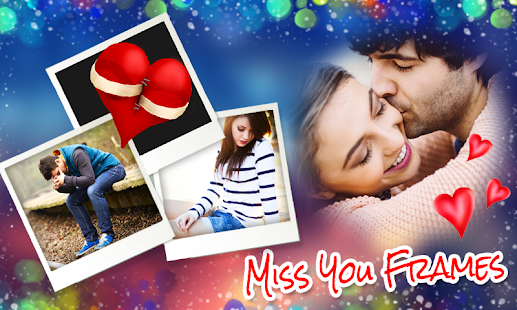 Miss You Photo Frames New- screenshot thumbnail