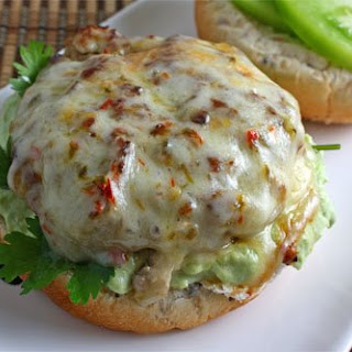 Salsa Verde Turkey Burger