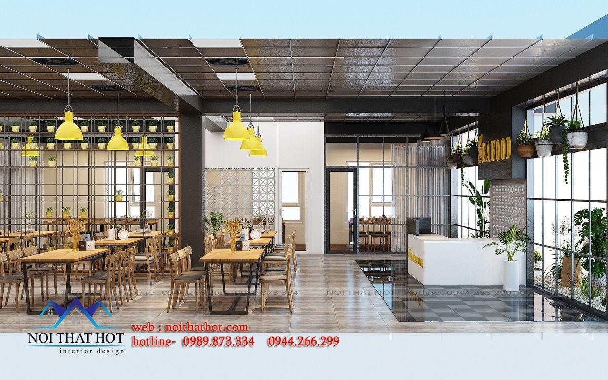 thiết kế nhà hàng chất lượng