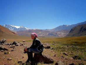 Photo: Un alto en Valle Hermoso