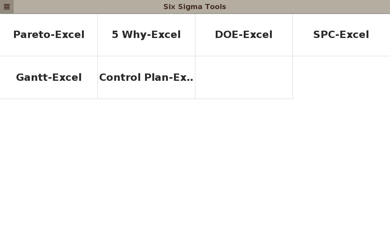 Six sigma tools android apps on google play six sigma tools screenshot xflitez Choice Image
