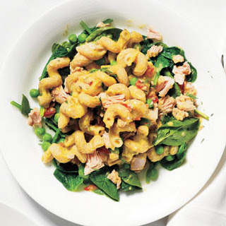 Tuna and Vegetable Pasta Salad.