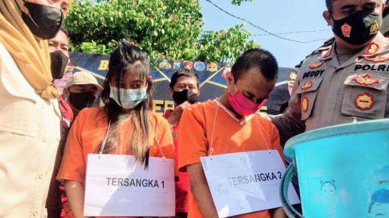 Pasangan Kumpul Kebo,Pelaku Aborsi di Mojokerto Diringkus Polisi