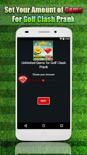 gems and coins for Golf Clash cheats simulator - náhled