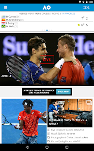 Australian Open Tennis 2017- screenshot thumbnail