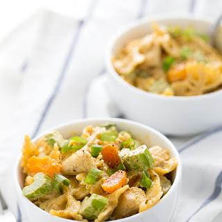 Creamy Curried Chicken Pasta Salad.