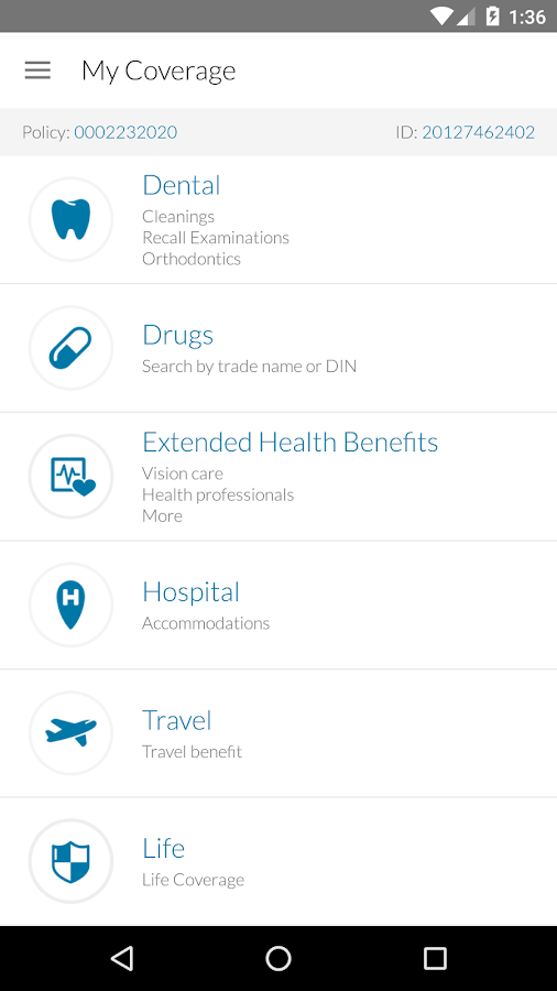 Group Member Services- screenshot
