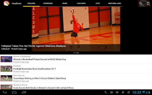 Friends University Athletics- screenshot thumbnail