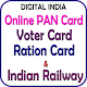DigiServices - Status Of Pan/Ration/Voter/Banking Download on Windows