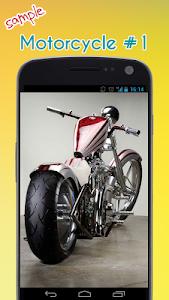Cool Motorcycle Wallpaper screenshot 1