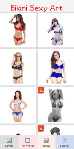 Bikini Pixel Art - Color Sexy Suit Girls Apk 2