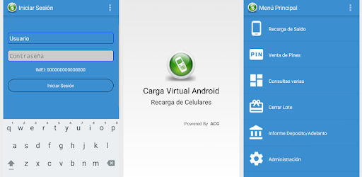 CargaVirtualAndroid app (apk) free download for Android/PC/Windows screenshot