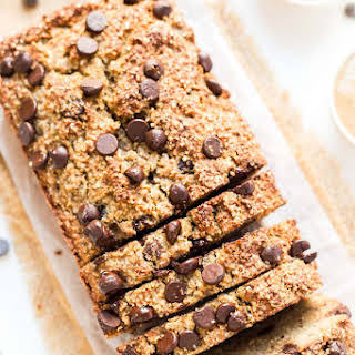 Almond Flour Chocolate Chip Banana Bread.