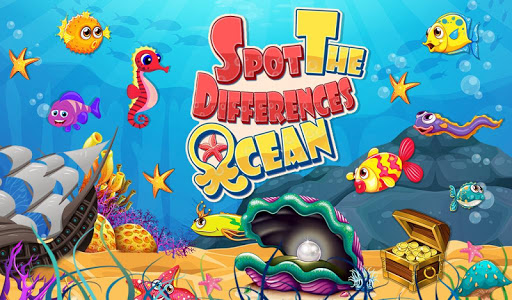 Spot The Differences Ocean
