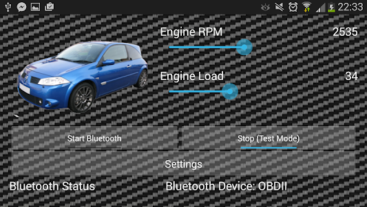 GTSoundSim OBDII Sounds Free screenshot 3