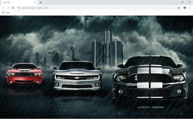 Sport Cars Wallpapers and New Tab