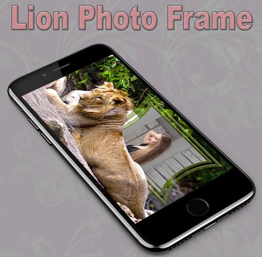 Lion Photo Frame 1.1 screenshots 3