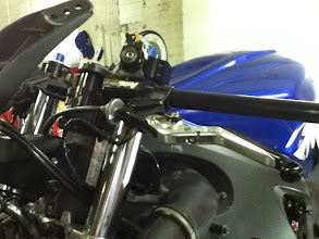 Photo: New clutch perch, clipon and adjustable levers