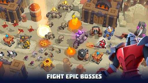 Wild Sky TD: Tower Defense Legends in Sky Kingdom screenshots 19