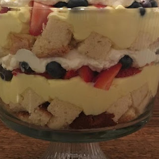 Outrageous Lemon Berry Trifle