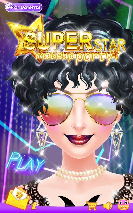 Superstar Makeup Party- screenshot