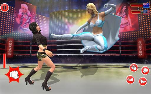Superstar Girl Wrestling Ring Fight Mania 2019  astuce 2