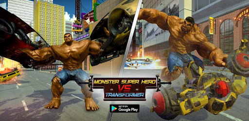 Monster Superhero VS Robot Transform Future Battle game (apk) free download for Android/PC/Windows screenshot