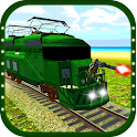 Gunship Bullet Train Battle 3D icon