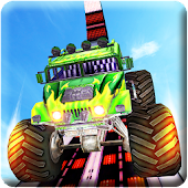 Impossible Tracks Monster Truck Rooftop Stunts