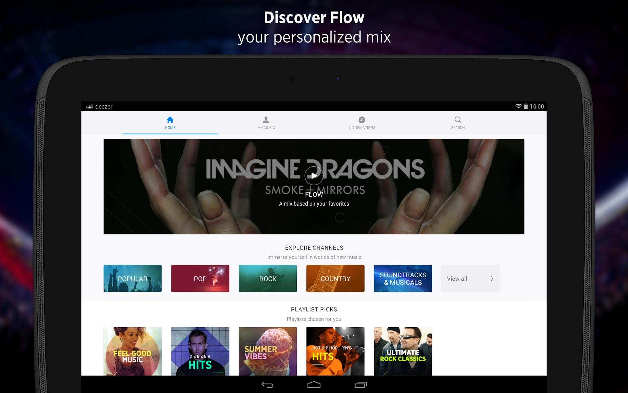 Deezer - Songs & Music Player screenshot #7