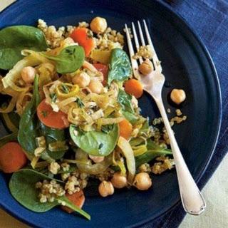 Gluten – Free Chickpea Bajane Dinner