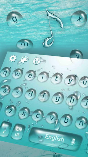 Water Keyboard Theme for PC