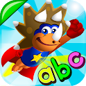 ABC Dinos: Learn to read for preschool icon