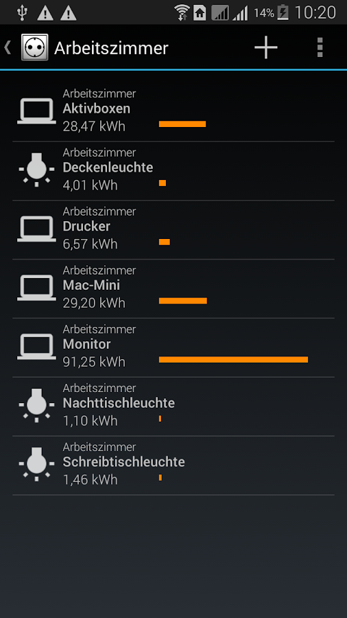 My Power Consumption- screenshot